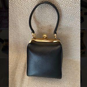 Dolce & Gabbana Agata Mini Black Lather Bag
